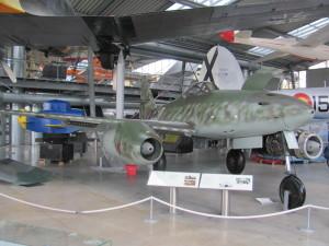 Německý proudový stíhací letoun Messerschmitt Me 262A-1a. FOTO: Ivo Pejčoch