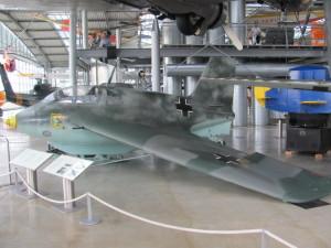 Německý raketový stíhací letoun Messerschmitt Me 163 B. FOTO: Ivo Pejčoch