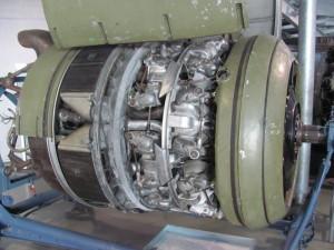 Sbírka leteckých motorů zahrnuje i tento BMW 801. FOTO: Ivo Pejčoch