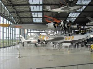 Německý třímotorový létající člun Dornier Do 24 z druhé poloviny třicátých let minulého století provozovalo také španělské letectvo. FOTO: Ivo Pejčoch