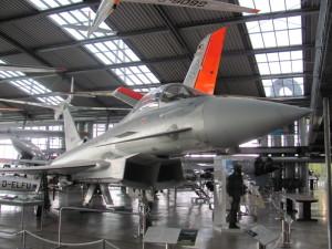 Dvoumotorový víceúčelový letoun Eurofighter Typhoon. FOTO: Ivo Pejčoch