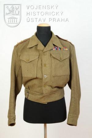 Blůza majora dělostřelectva, 1947