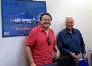 Jiří Rajlich s legendou izraelského letectva, Danielem Shapirou