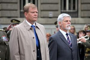 Někdejší náčelníci GŠ AČR Josef Bečvář (vlevo) a Petr Pavel