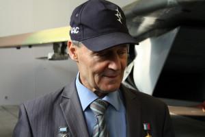 Bývalý ruský testovací pilot Anatolij Kvočur