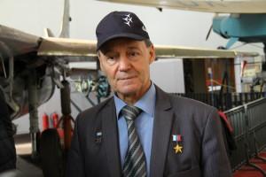 Bývalý ruský testovací pilot Anatolij Kvočur  - na saku má vyznamenání Hrdina Ruské federace