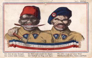 Wilhelm Raab, pohlednice, Vídeň 1919. FOTO: VHÚ