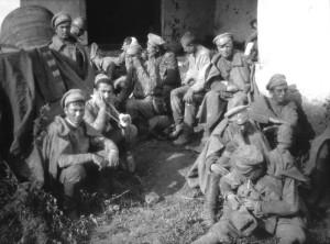 Ruští zajatci za první světové války.  FOTO: Wilhelm Raab