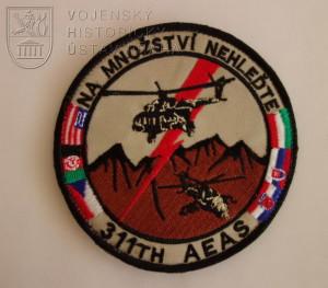 Neoficiální rukávový znak 311th AEAS od 18AAT