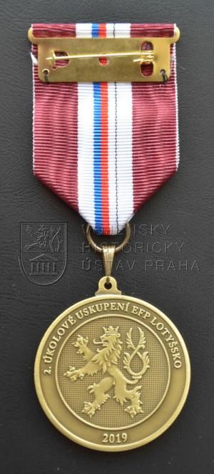Pamětní odznak 2. úkolového uskupení eFP v Lotyšsku