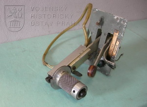 Prototypová páka ovládání motoru