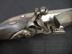 Pruská hradební puška, kolem 1750