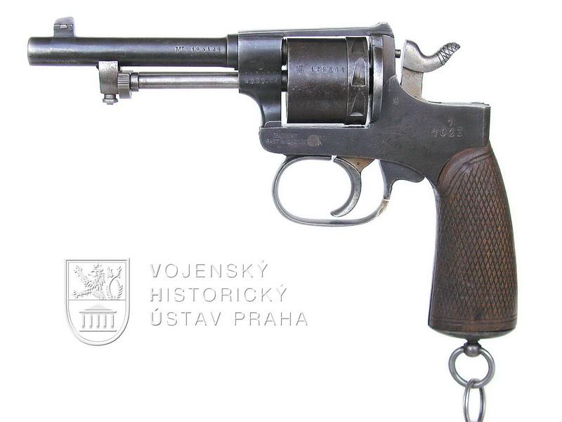 Revolver M. 98 (Rast-Gasser) z čs. výzbroje