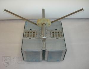 Rozměrový model družice Magion 1