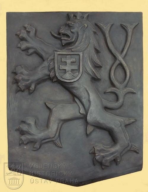 Břetislav Benda, Malý státní znak, 20. léta 20. století.