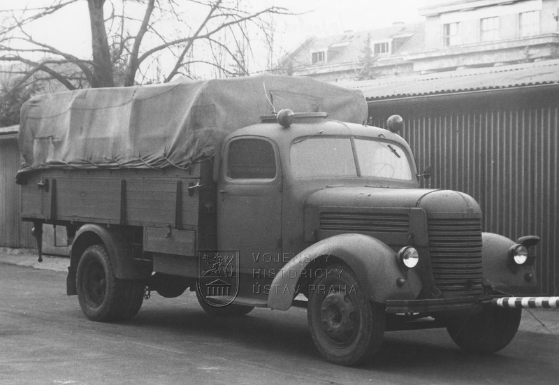 Nákladní automobil Praga RN