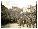 Fotografie zajatých italských vojáků na sočské frontě, 1917