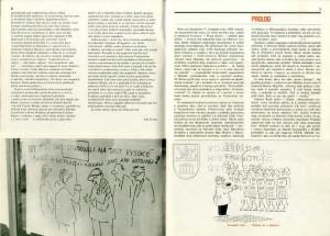 Prolog – popis událostí 17. listopadu 1989.