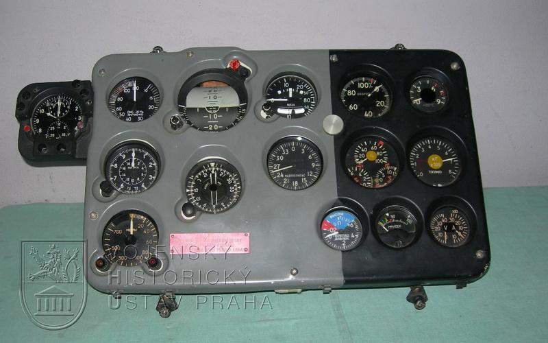 Palubní deska letounu Aero L-39 V