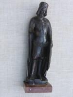Restaurování bronzové plastiky sv. Václava