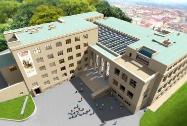 Vizualizace nové podoby Armádního muzea Žižkov po rekonstrukci