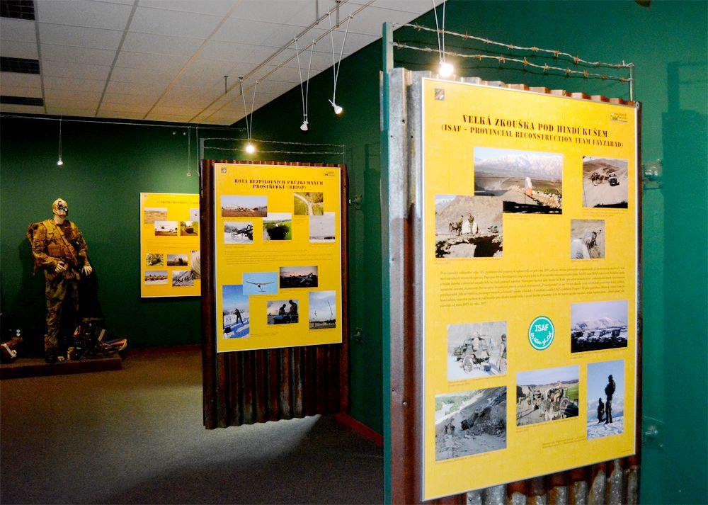 Nová expozice u 102. průzkumného praporu v Prostějově