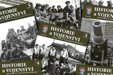 Archiv Historie a vojenství. Vyhledávání v databázi jednotlivých ročníků a čísel časopisu.