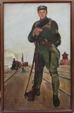Jaroslav Riedl, Československý legionář v Rusku, 1927