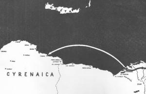 Jediná cesta do Tobruku byla dlouho možná jen po moři ze vzdálené Alexandrie.._