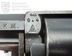 Holandský četnický revolver Kobold