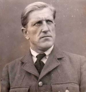 František Chmel, který po válce dosvědčil odbojovou činnost Marie Pětrošové. Na snímku jako příslušník čs. letectva v rámci RAF. FOTO: VÚA–VHA