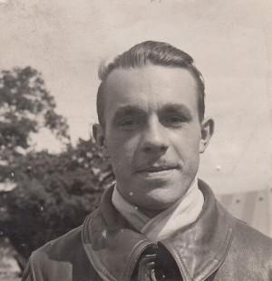 František Příborský na snímku z léta 1940, pořízeném v táboře Cholmondeley nedaleko Chesteru krátce po příjezdu čs. jednotek do Velké Británie. FOTO: VHA Bratislava