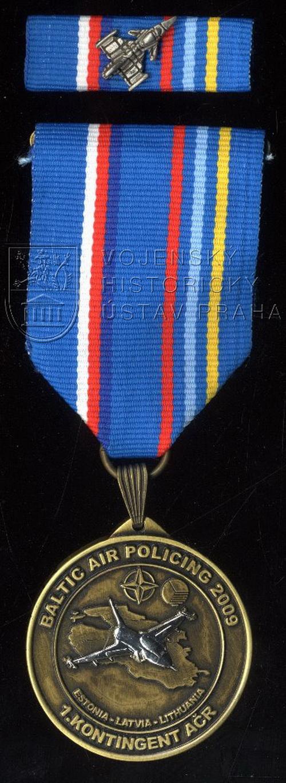Pamětní odznak 1. kontingentu AČR Baltic Air Policing 2009