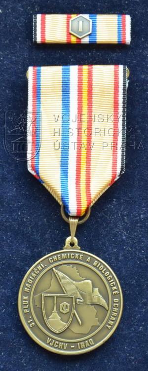 Pamětní odznak Výcvikové jednotky chemického vojska - Irák (VJCHV-I)