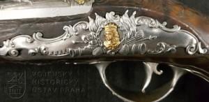 Pár pistolí s křesadlovým zámkem, G. Merli, Ferrara, kolem 1770
