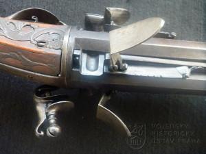 Puška revolverová s křesadlovým zámkem, Čechy, konec 17. století
