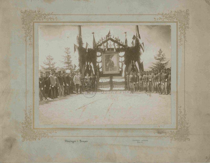 Oslava na počest cara Mikuláše II.
