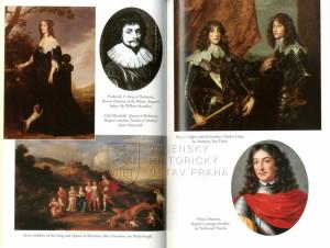 Rodiče, sourozenci a princ Ruprecht na dobových obrazech.