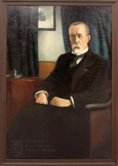 František Šimbera, Tomáš Garrigue Masaryk, kolem 1920.