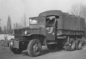Americký nákladní automobil GMC CCKW-353 z období druhé světové války