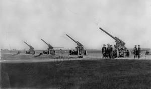 Baterie 8,35 cm kanónů proti letadlům vz. 22
