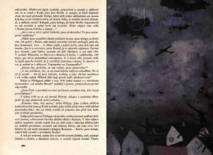 Ukázka textu s žánrovou akvarelovou ilustrací.