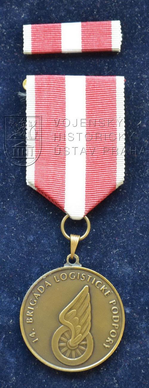 Pamětní odznak 14. brigády logistické podpory Pardubice