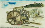 Josef Šíma, 10cm lehká houfnice vzor 14 systému Škoda, kolem 1923