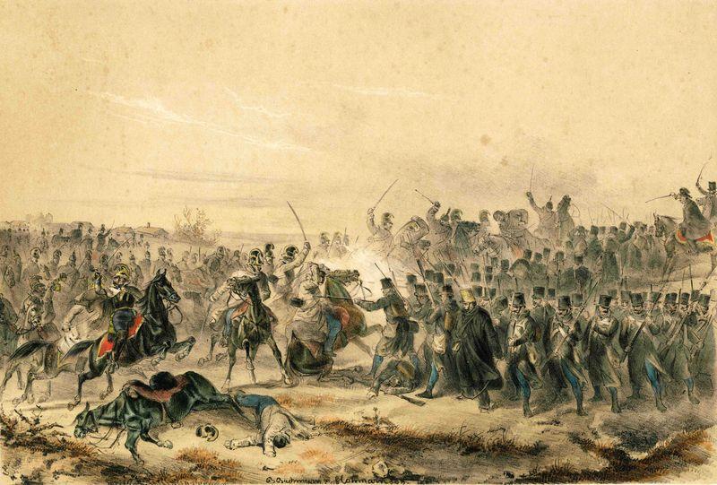 Bitva u Kápolny v únoru 1849 a její čeští aktéři