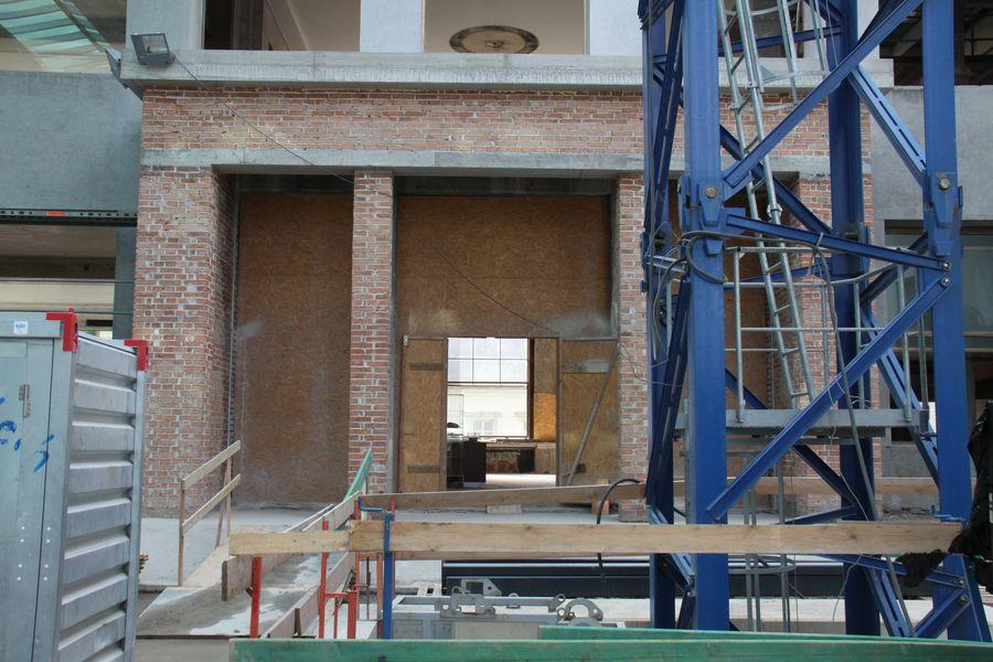Pvodní vchod do budovy muzea