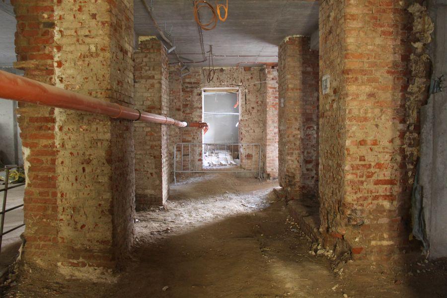 Jedna z podzemních místností