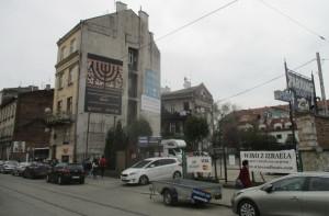 Pozůstatky předválečné židovské čtvrti Kazimierz v ulici Dajwór. FOTO: J. Plachý