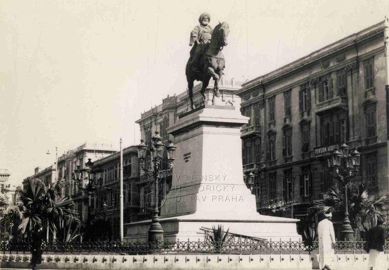 Pomník Muhammada Alího v Alexandrii
