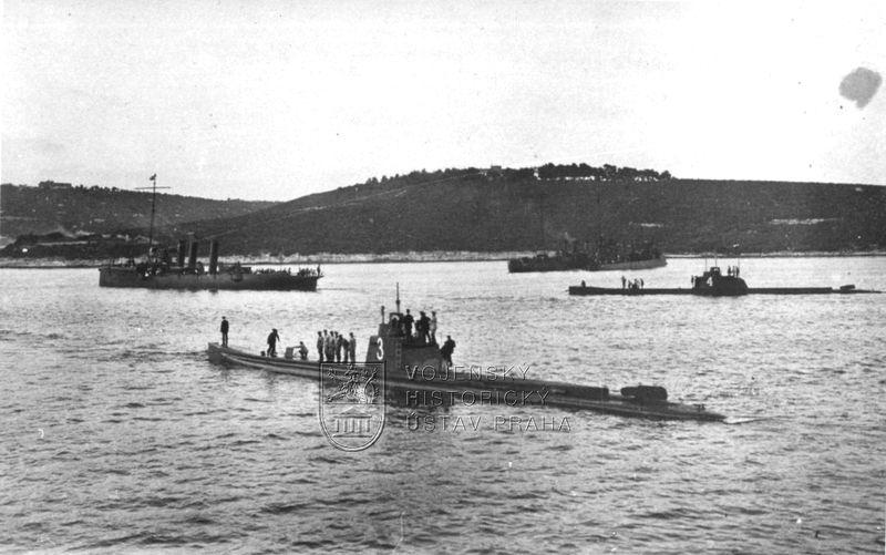 Rakousko-uherské ponorky U 3 a U 4